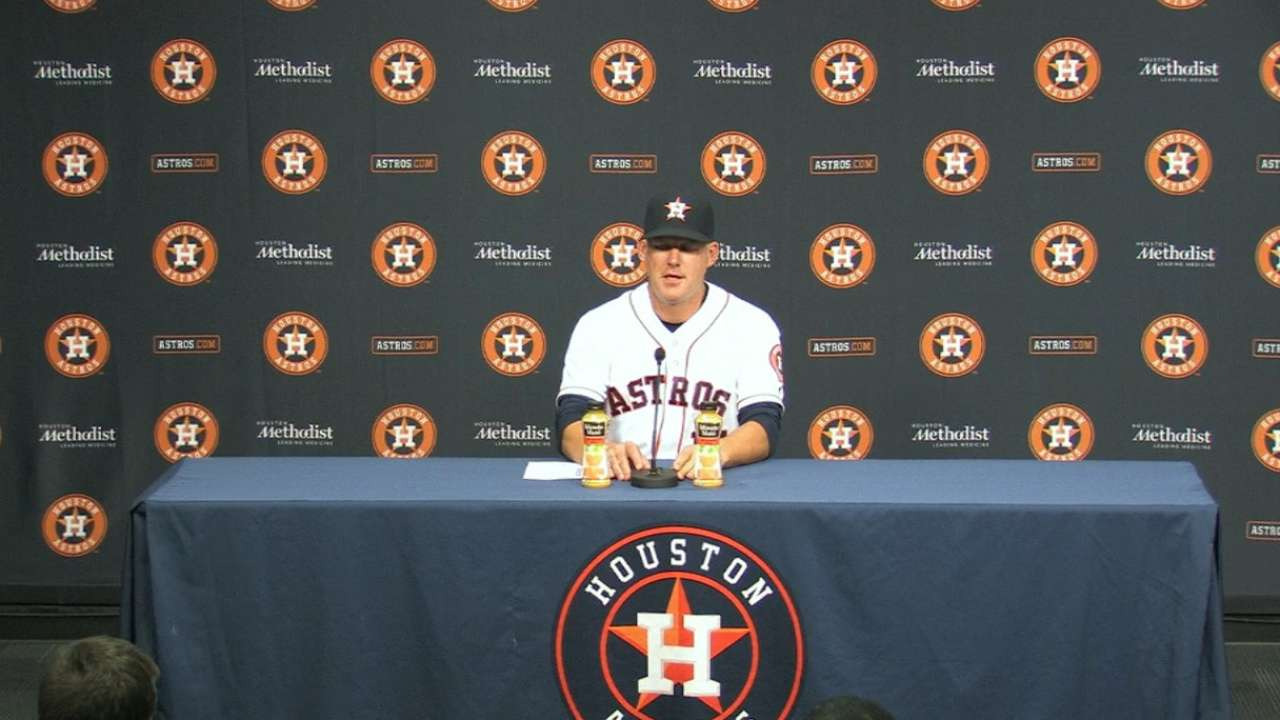 Hinch on extra-inning victory