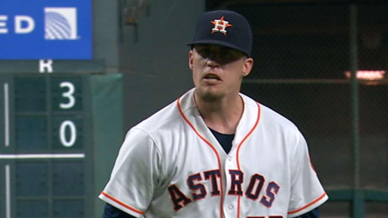 Zinkie on Astros' closer change
