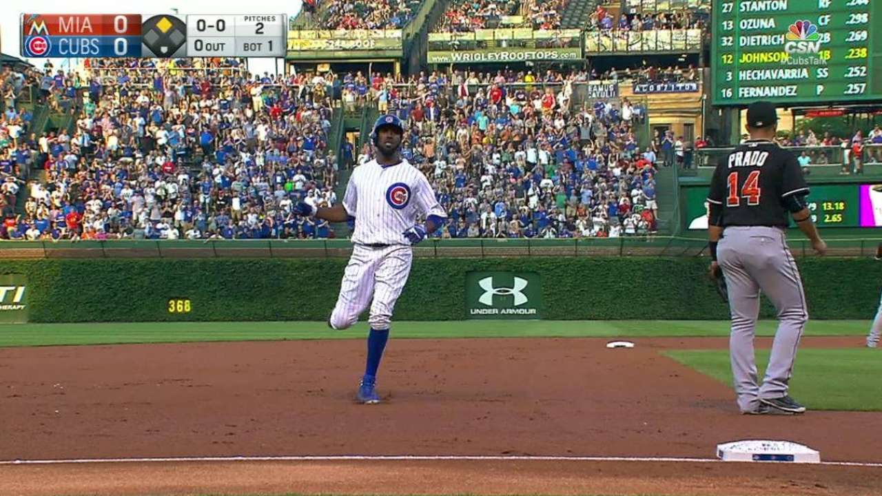 Fowler's triple to right