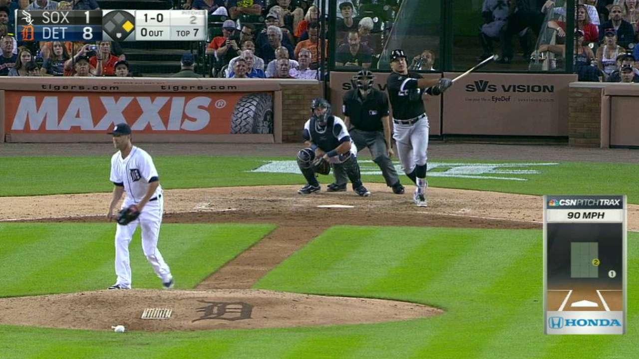 Garcia's two-run homer