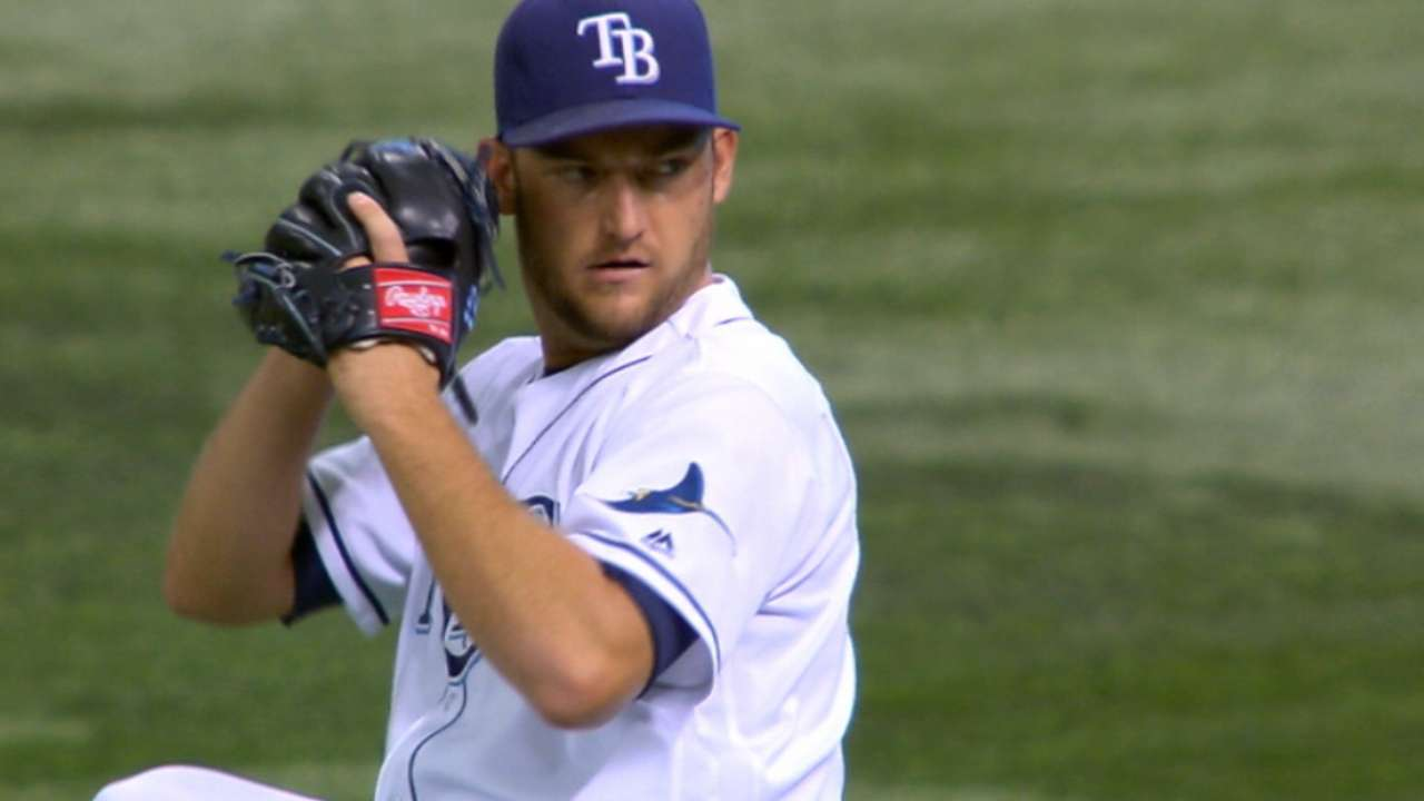Andriese solid in his return to Rays' rotation