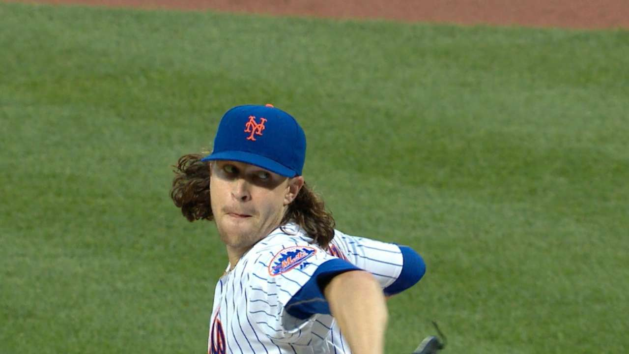 deGrom's dominant game