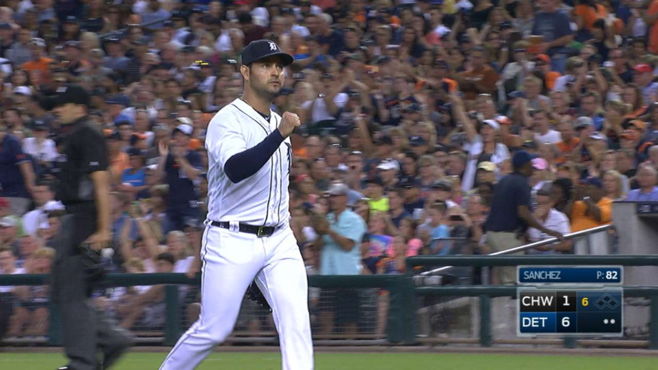 Anibal avoids big inning, sets Tigers up for success