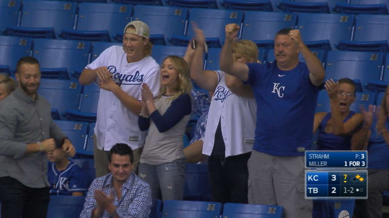 Strahm's family reacts