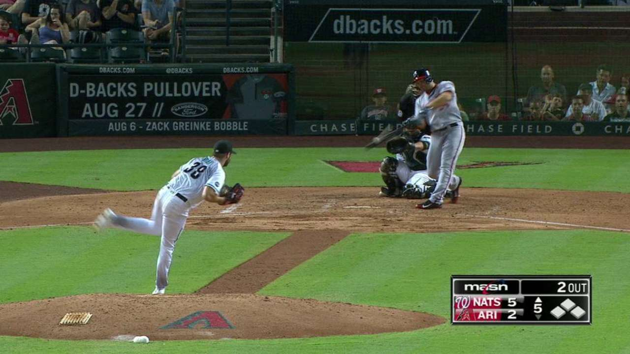 Heisey goes back-to-back
