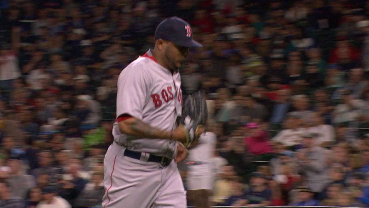 Abad looks forward after 'tough' Sox debut