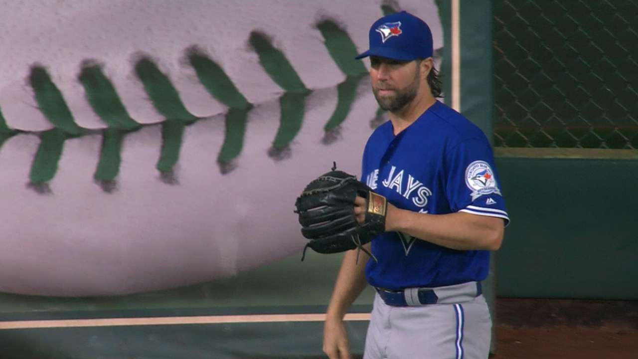 Dickey's strong start