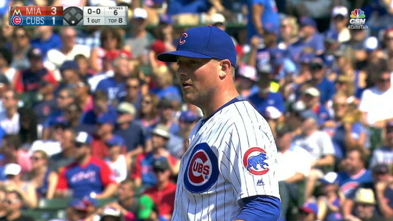 Cubs place Smith on DL with hamstring strain