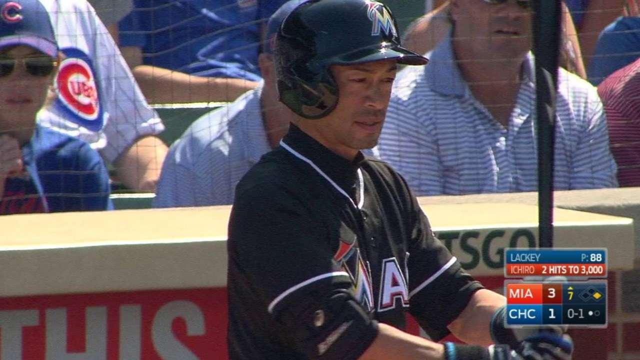 Ichiro's pinch-hit appearance