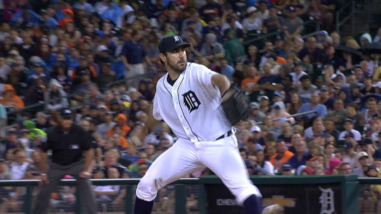 Verlander's 11 K's in 11 seconds