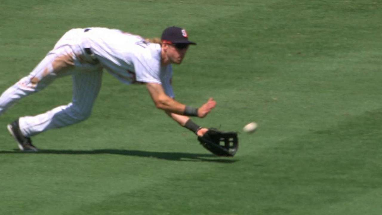 Jankowski's speed puts charge into Padres