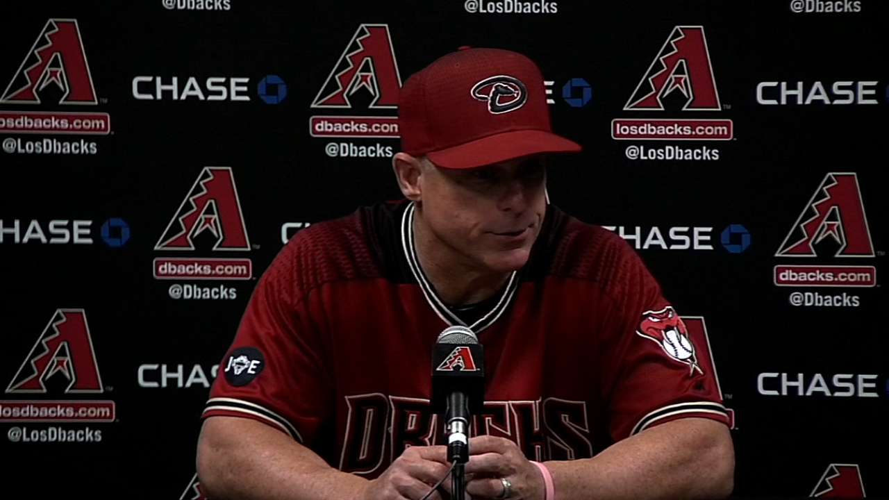 Bullpen woes a recurring theme for D-backs
