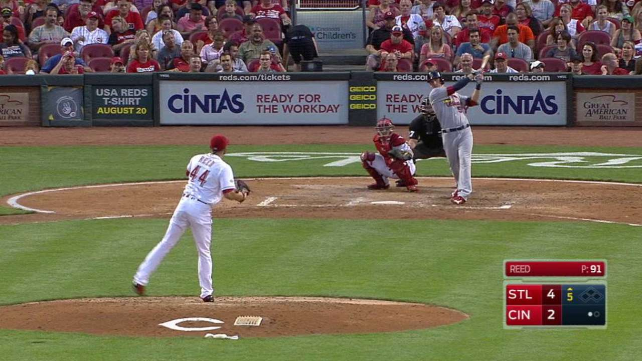 Cards edge Reds, take ownership of 2nd WC