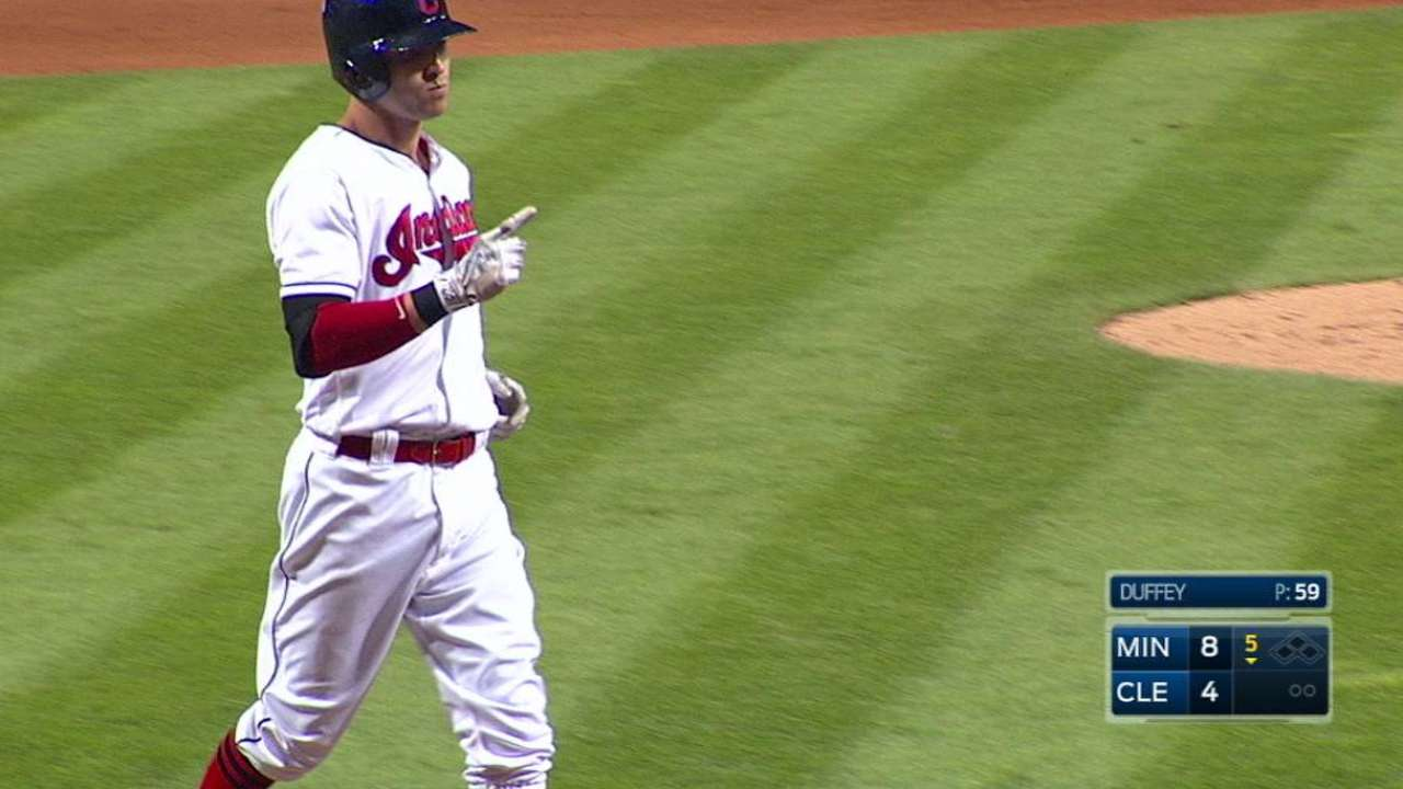 Naquin's two-run moonshot