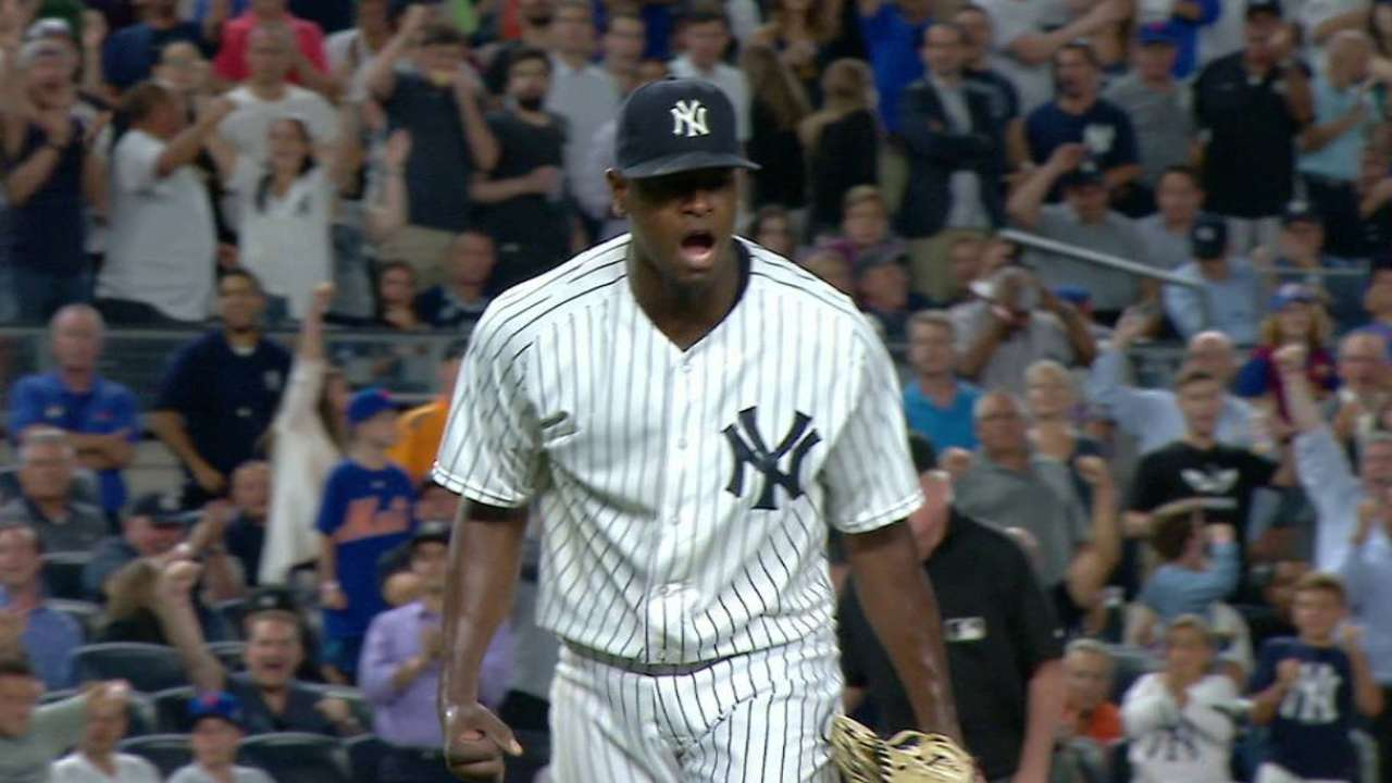 Severino back to rotation as Yanks option Green