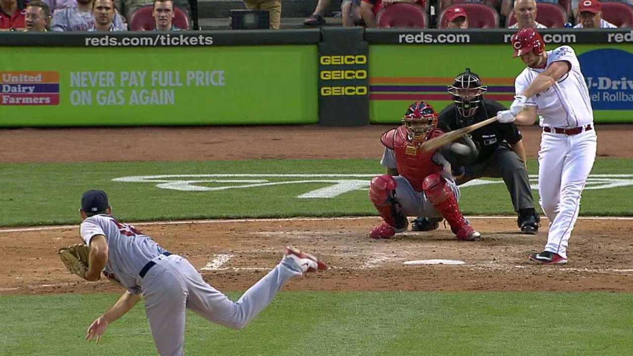 Smith's pinch-hit double