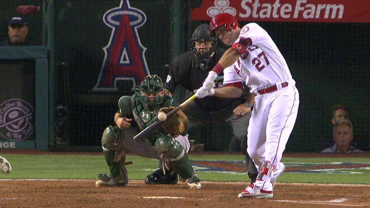 Angels hope Trout illness is short-term issue