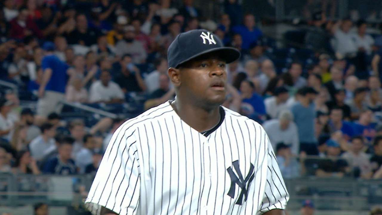 Severino uses reliever's mentality to stifle Mets