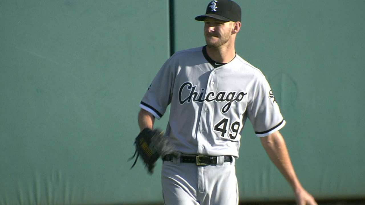 Sale, Sox happy with results of pitching plan