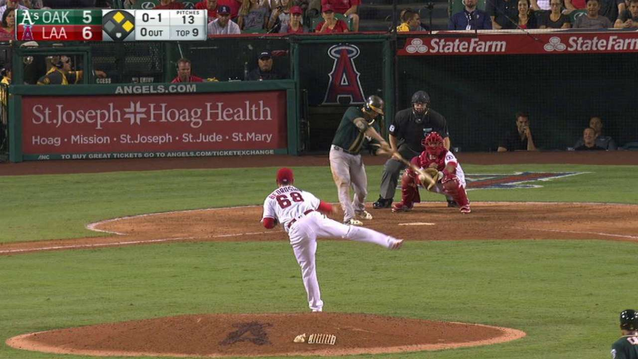 A's comeback cut short by double plays