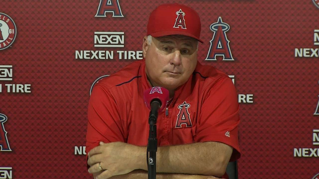 Scioscia on win over A's