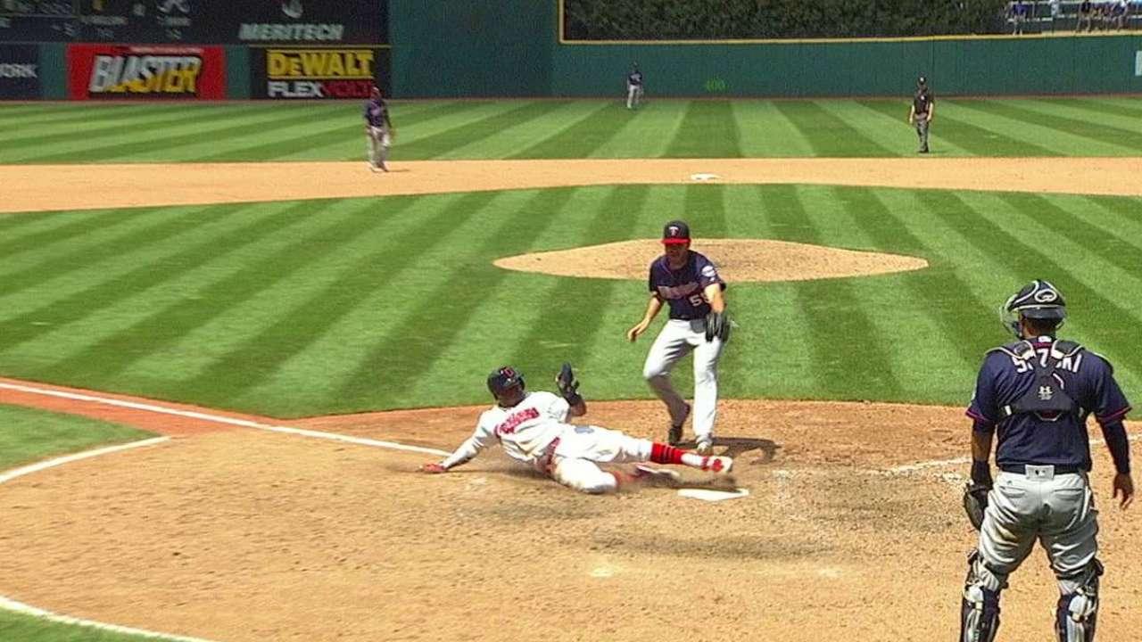 Davis' trip around the bases