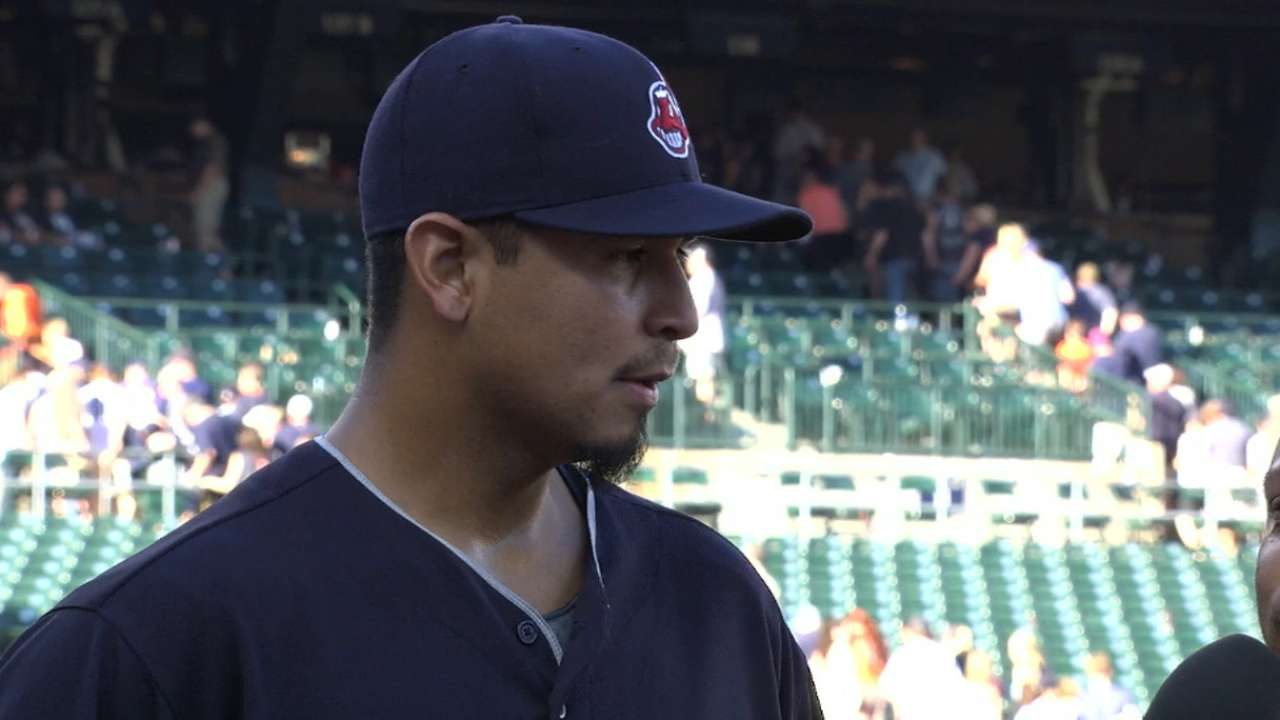 Carrasco's return to form strengthens deep staff