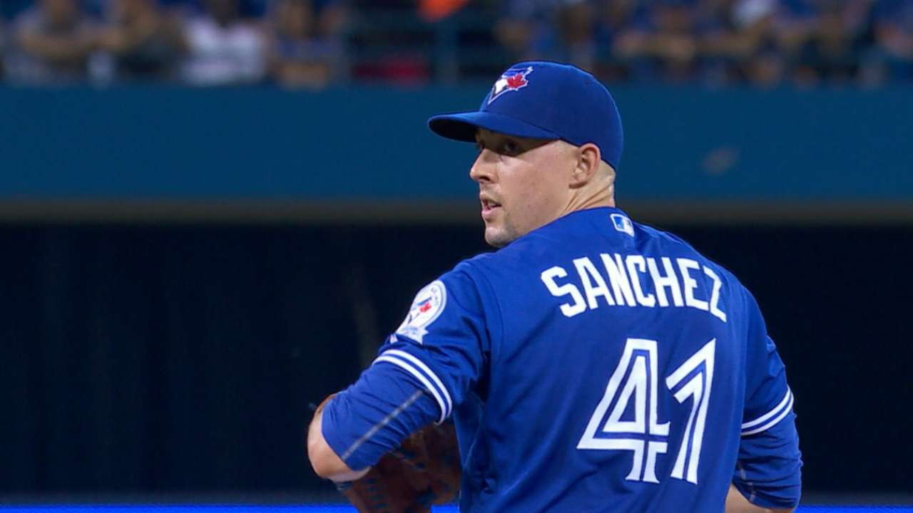 Blue Jays to keep Sanchez in 6-man rotation