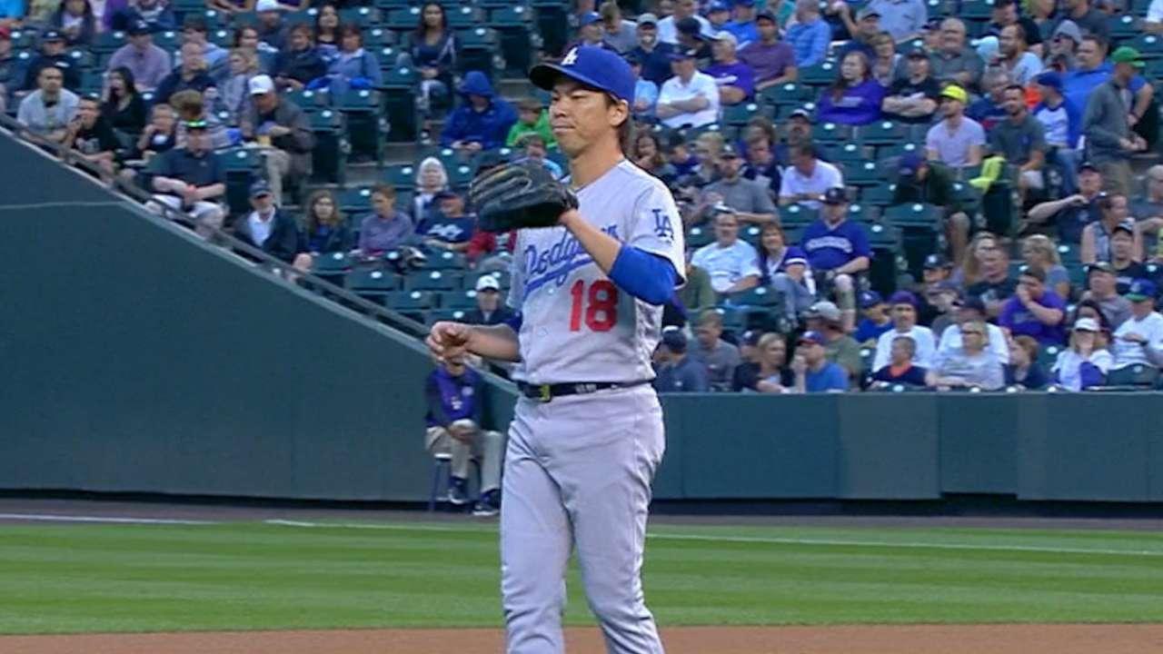 Maeda's start just what Dodgers need vs. Rockies