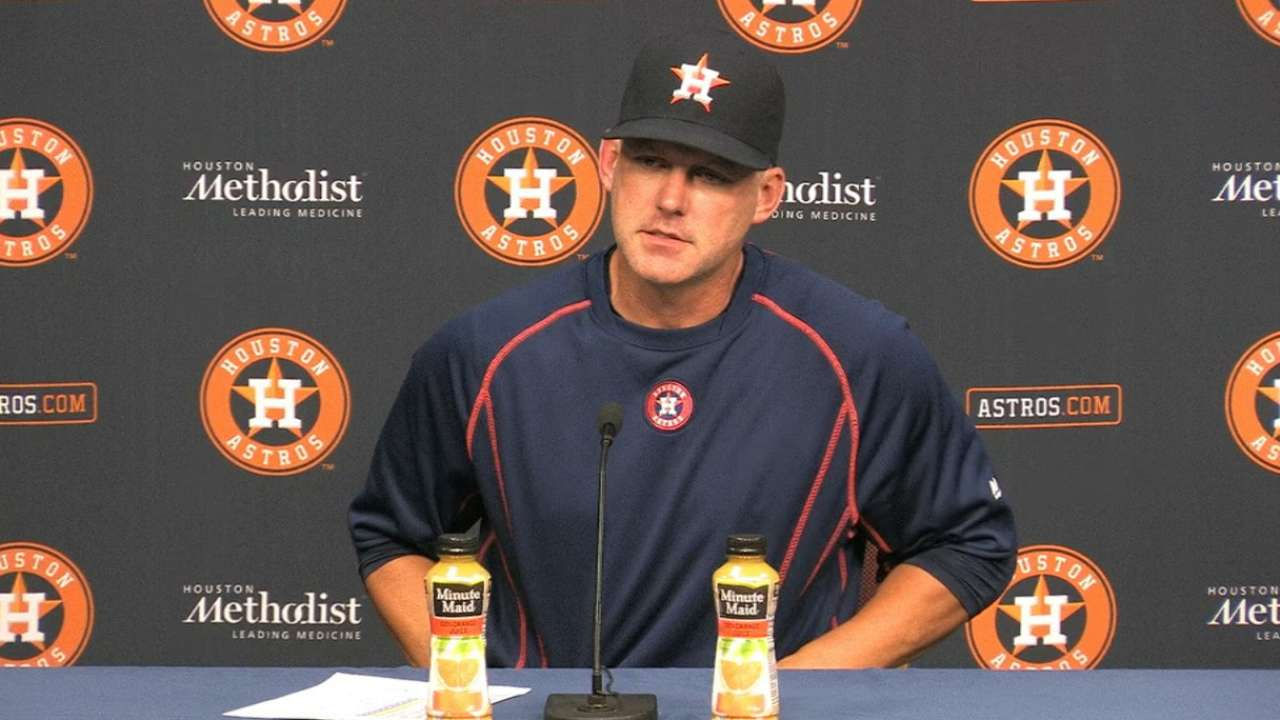 Hinch on 4-1 loss to Blue Jays