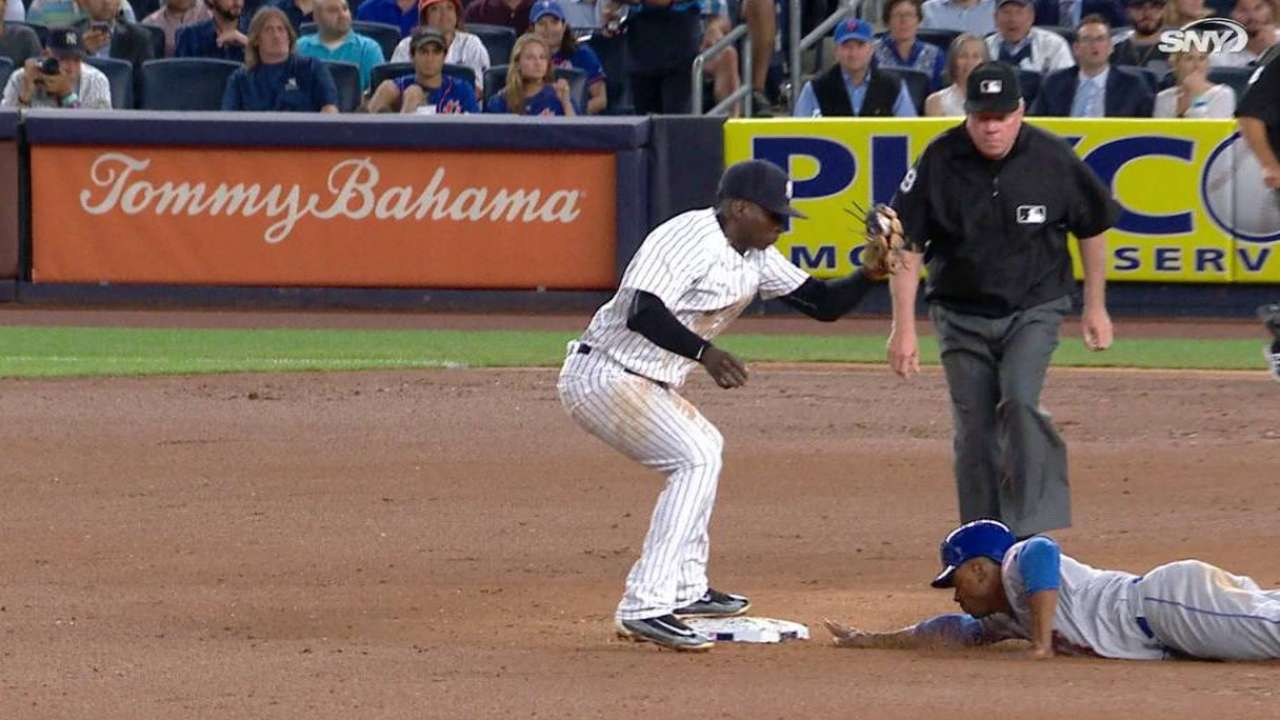 Granderson gets back to the bag