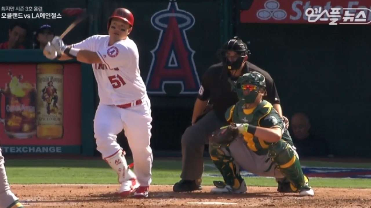 Choi powers up for 1st career multi-hit game