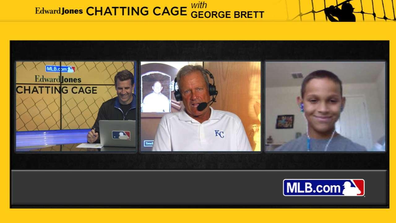 Chatting Cage: George Brett