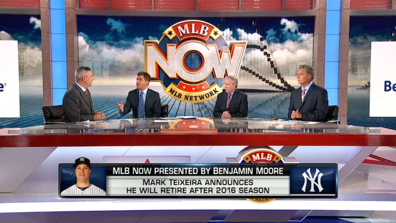 MLB Now on Teixeira