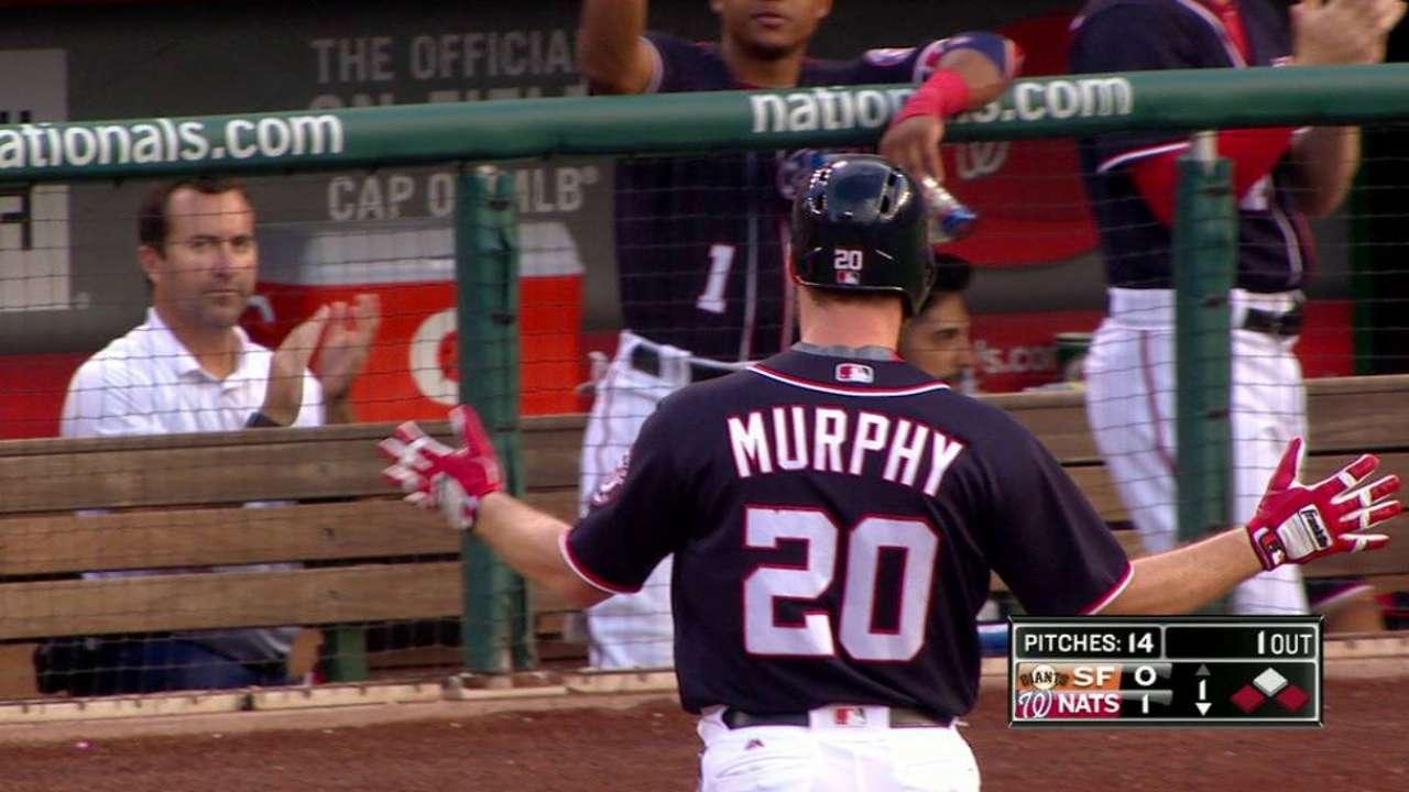 Murphy's RBI single