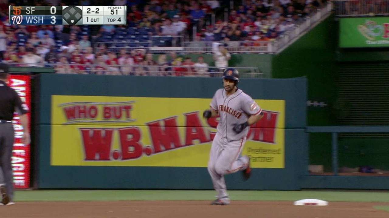 Pagan's solo home run