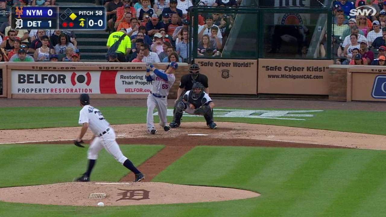 Johnson's two-run home run