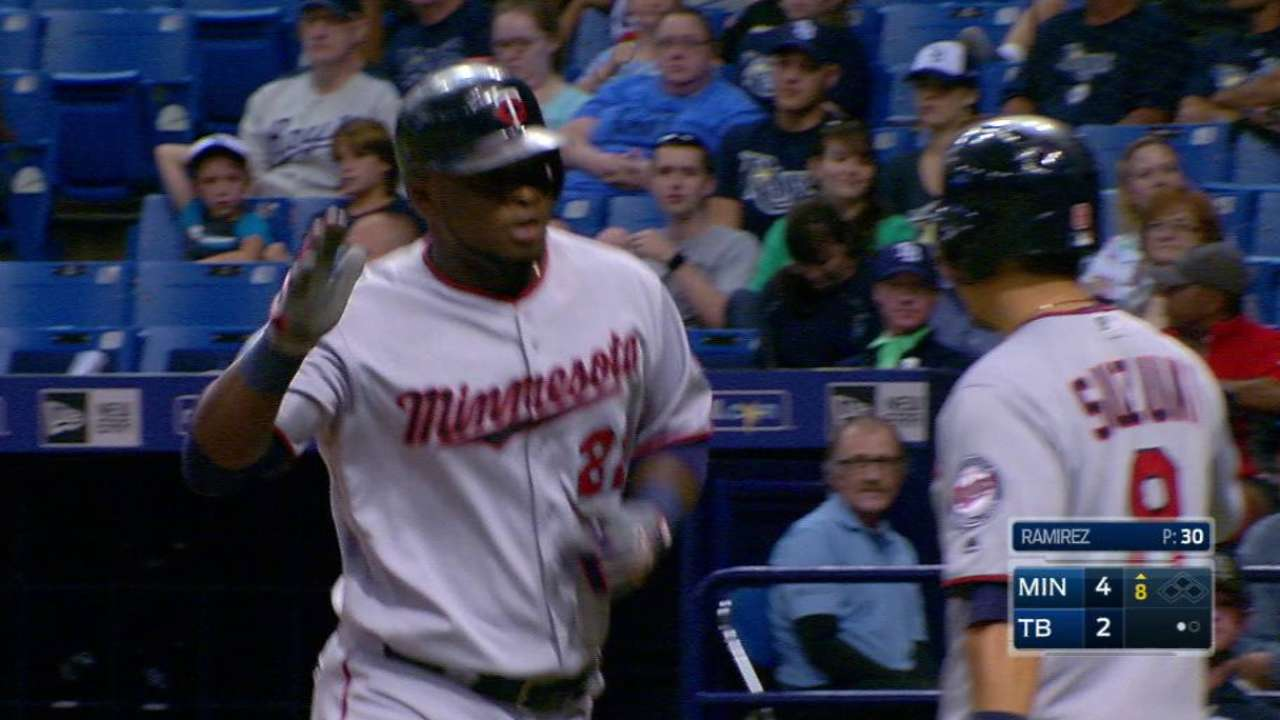 Sano dials in, delivers three-hit performance
