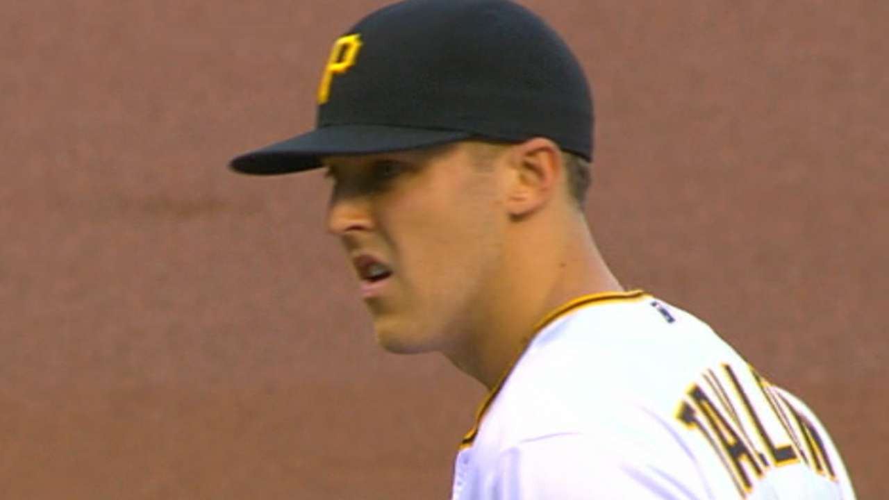 Taillon holds Reds to one run