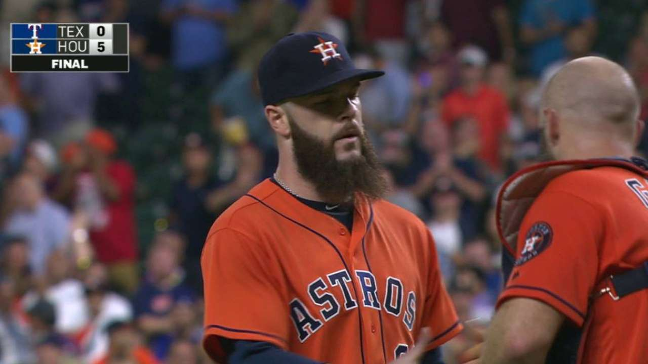 Keuchel completes the game