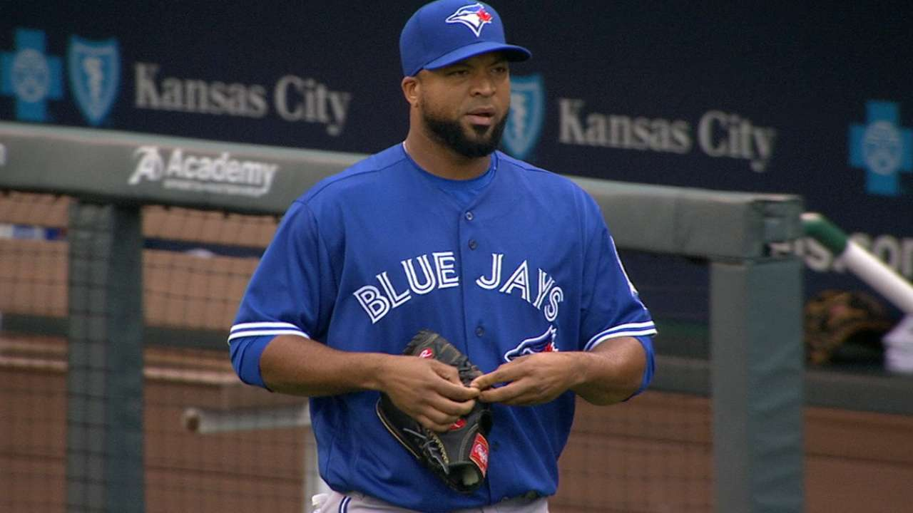 Liriano's Blue Jays debut