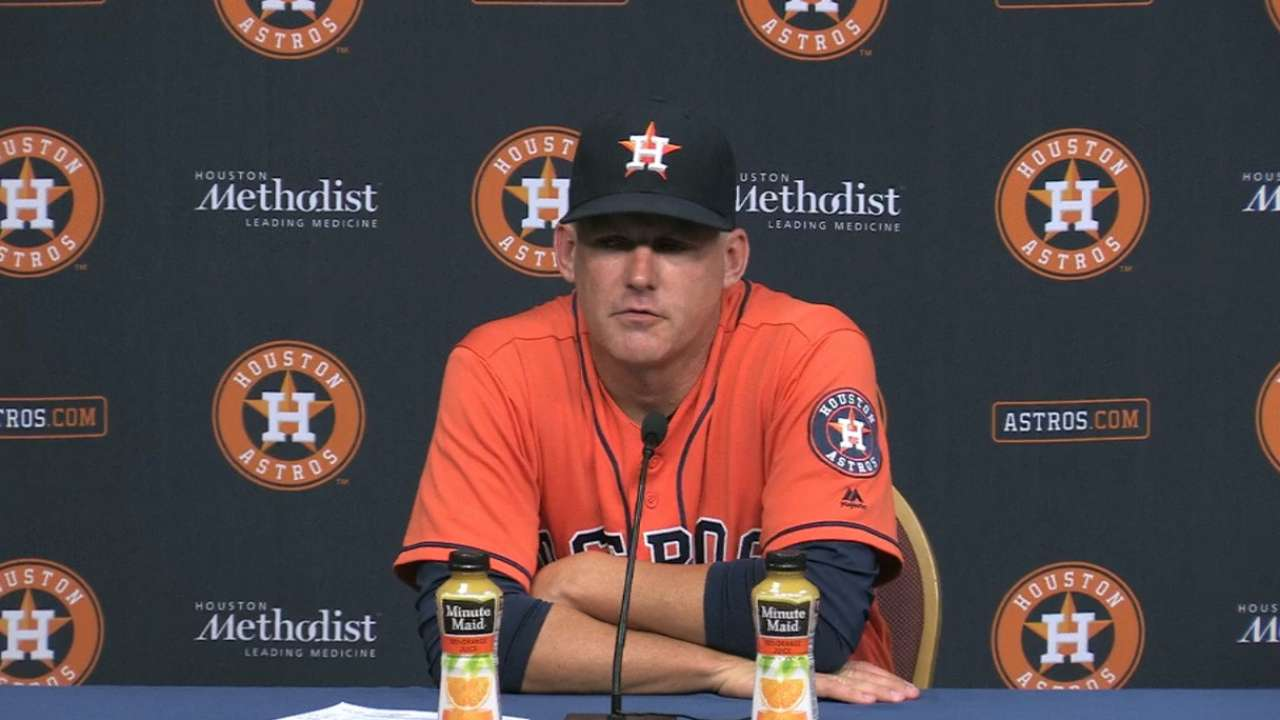 Hinch on Keuchel, 5-0 win