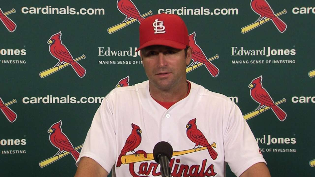 Matheny praises Garcia