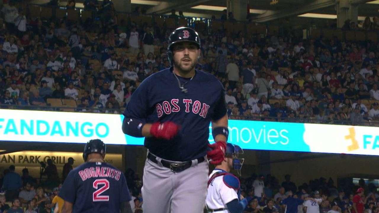 Shaw's solo home run