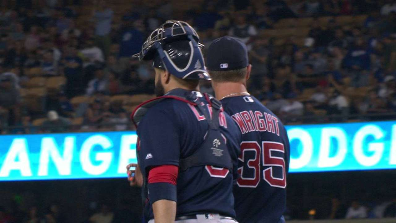 Wright completes shutout