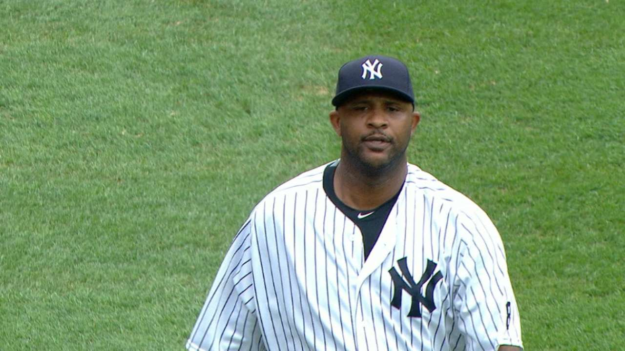 Command issues derail Sabathia's day