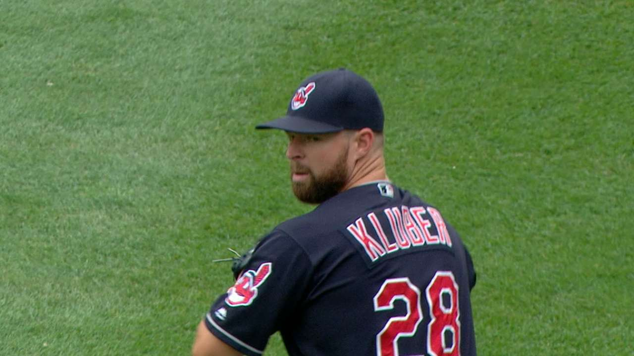 Kluber, homers carry Tribe past Yankees