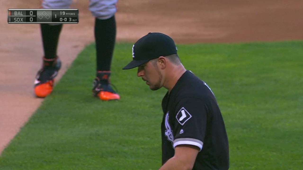 Rodon escapes trouble in 1st