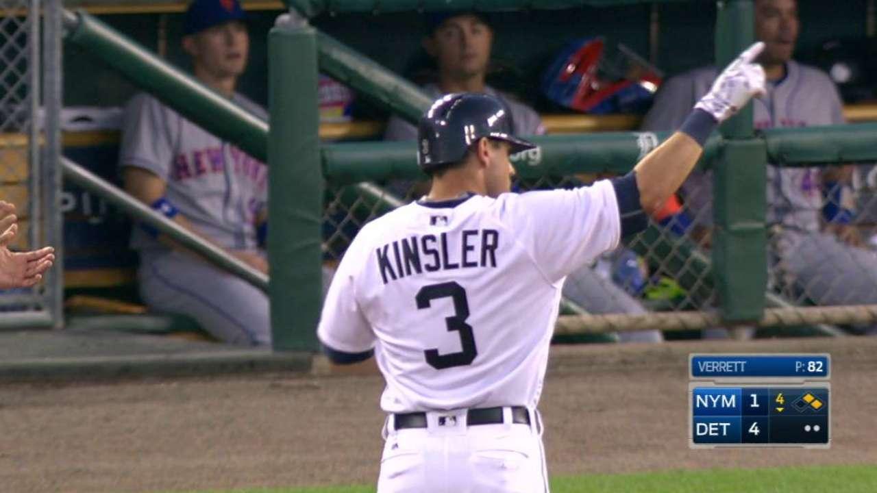 Kinsler's RBI single