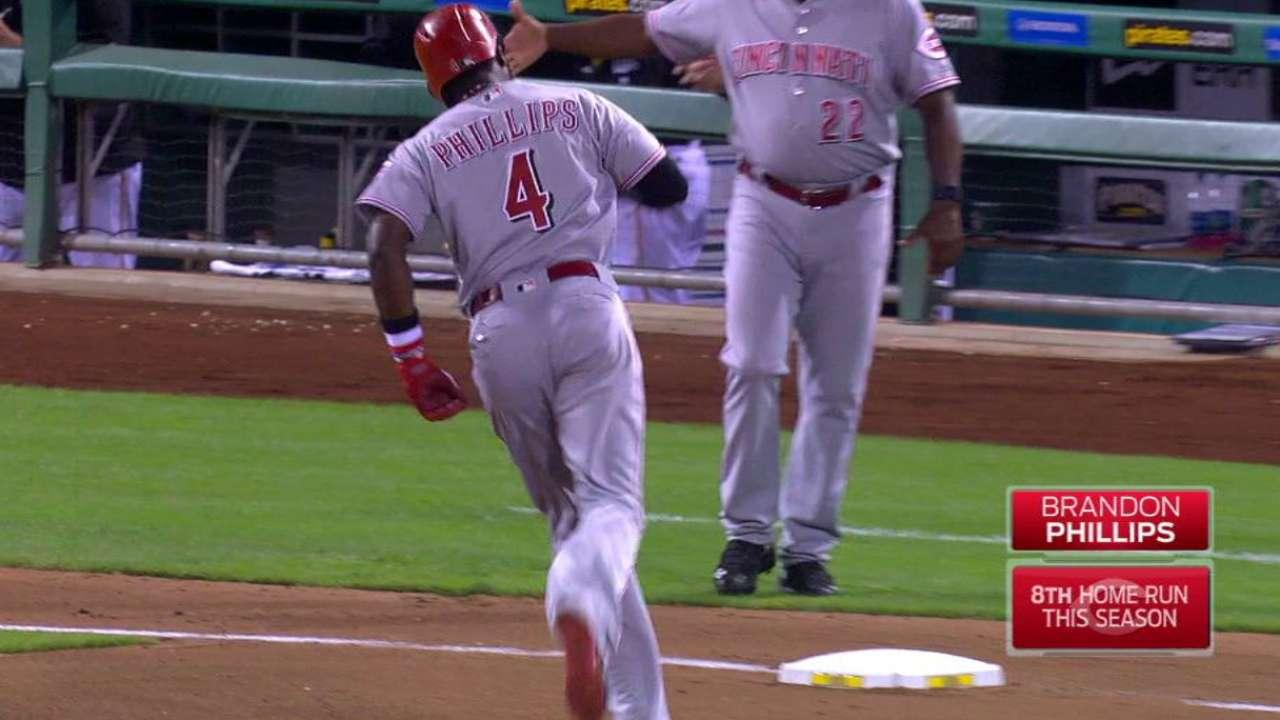 Phillips' second home run